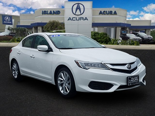 Certified Pre-Owned 2016 Acura ILX with Premium Package FWD 4dr Car