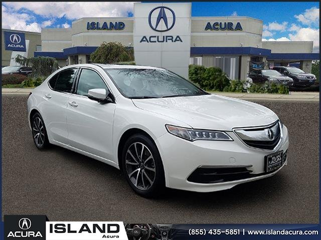 Certified Pre Owned 2016 Acura Tlx 3 5 V 6 9 At Sh Awd With