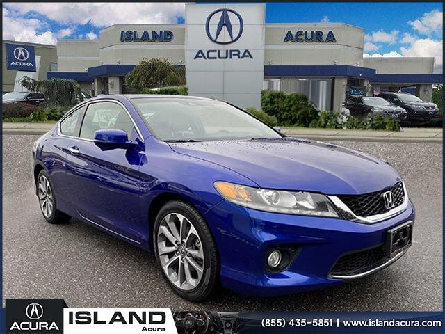 Pre-Owned 2013 Honda Accord Cpe EX-L w/Navigation