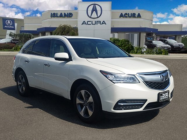 Certified Pre-Owned 2016 Acura MDX SH-AWD Sport Utility
