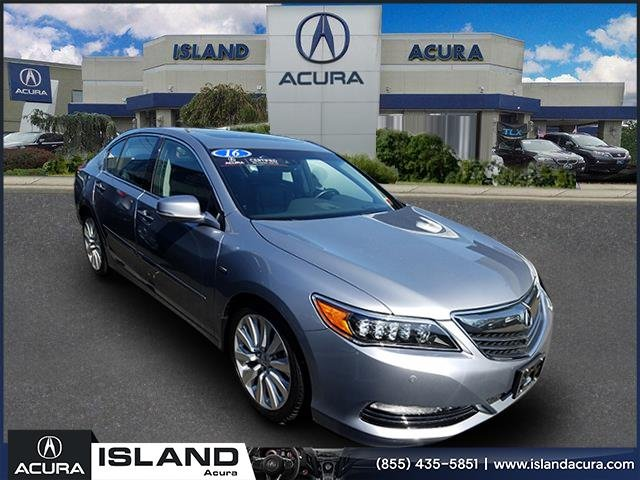 Certified Pre Owned 2016 Acura Rlx Sport Hybrid Sh Awd With Advance Package