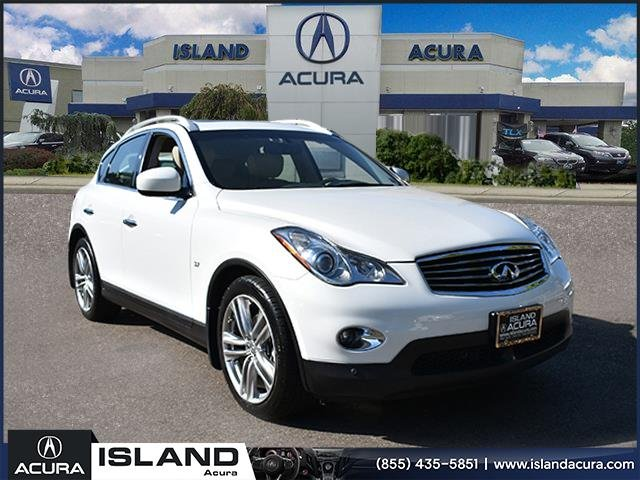 Pre-Owned 2015 INFINITI QX50 Journey w/Navigation With Navigation & AWD