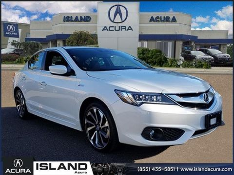 Certified Pre-Owned 2018 Acura ILX with Technology Plus and A-SPEC Package